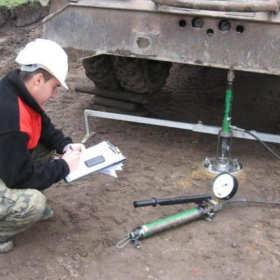 Prace w zakresie obsługi geotechnicznej budów