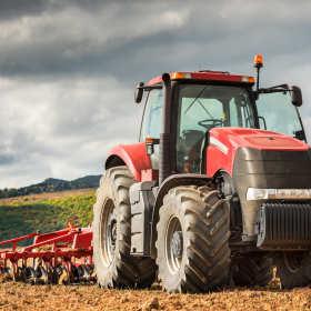 Pierwsze rolnicze maszyny