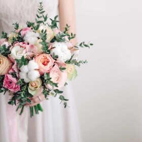 Wyjątkowy bukiet ślubny