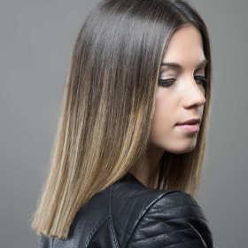 Jak zrobić ombre na czarnych włosach?
