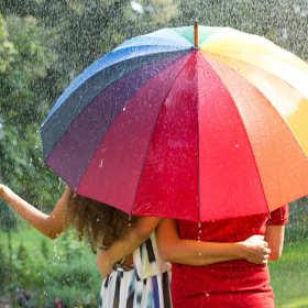 Dobry parasol przetrwa każdą ulewę