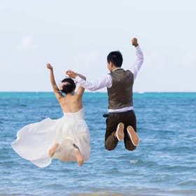 Ślubny teledysk plenerowy