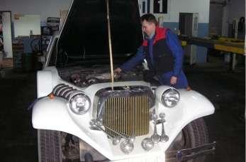 Usługi z zakresu elektroniki samochodowej