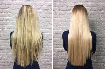 Keratynowe prostowanie włosów w dobrym salonie fryzjerskim