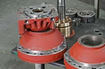 Produkcja silników hydraulicznych SOK