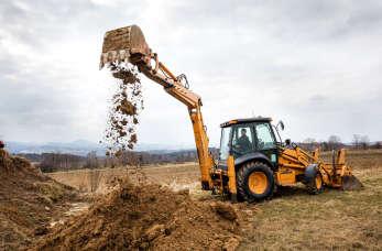 Kopanie i czyszczenie stawów – roboty ziemne