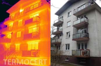 Badania termowizyjne wykonywane przez firmę TERMOCERT