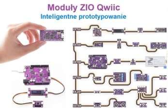 Moduły ZIO Qwiic do inteligentnego prototypowania dla twórców w elektronice i robotyce