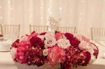 Wyjątkowa oprawa florystyczna ślubu
