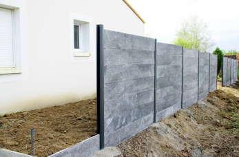 Ogrodzenia betonowe - budowa, montaż, ceny