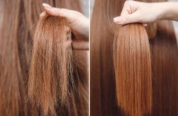 Keratynowe prostowanie włosów w pigułce.
