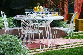 Czy meble metalowe sprawdzą się w ogrodzie?
