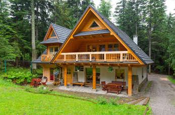 Prefabrykowane domy drewniane