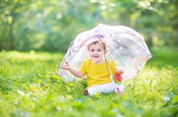 Jakie problemy mogą wystąpić na skórze dziecka latem?