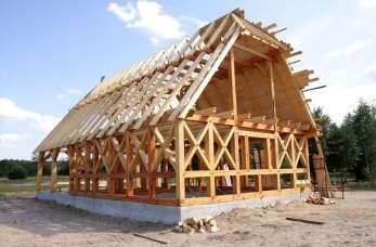 Całoroczne domy drewniane, jako tańsza alternatywa dla domów murowanych