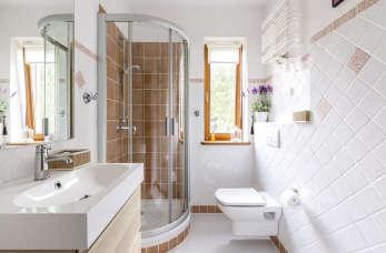Idealnie zaprojektowana i wyposażona łazienka