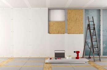 Ściany działowe z płyt gipsowo-kartonowych