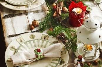 6 porad, jak udekorować stół na Wigilię?