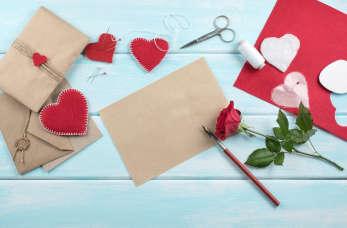 3 pomysły, jak zrobić kartkę walentynkową i prezent DIY na walentynki