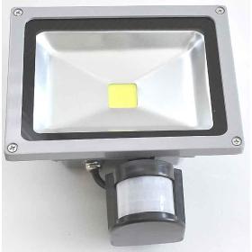 LAMPA LED HALOGEN NAŚWIETLACZ PROJEKTOR OŚWIETLACZ HALOPAK REFLEKTOR 20W Z CZUJKĄ RUCHU