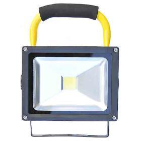 Lampa latarka warsztatowa LED ładowalna stojak 10W