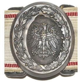 Pas oficerski LWP paradny galowy