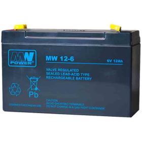 Akumulator żelowy AGM MW 6V/12Ah