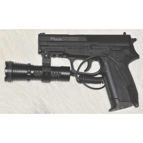 Latarka do broni taktyczna wojskowa policyjna asg LED 500 lm BL-Q8490 gmglite ładowalna wyłącznik żelowy