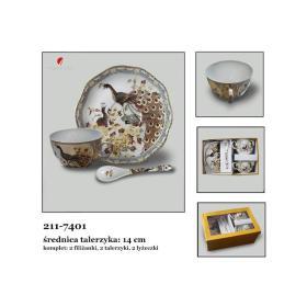 Filiżanka + spodek 211-7401 kpl.2szt