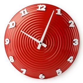 Zegar płyta czerwona YGZ1213