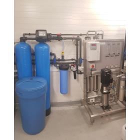 Montaż systemów odwróconej osmozy Aqualine demineralizacja wody