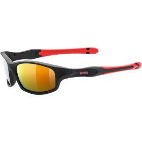 Okulary dziecięce Uvex Sportstyle 507 black red