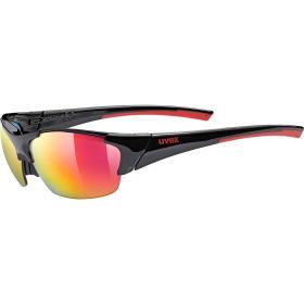 Okulary Uvex Blaze III 2.0 black red