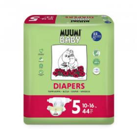 MUUMI BABY Pieluszki jednorazowe 5 dla dzieci o wadze 10-16kg 44szt.