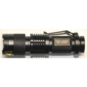 Latarka policyjna wojskowa taktyczna LED SUPER CREE BL8468 ładowalna