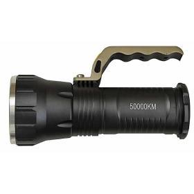 Latarka reflektor UV LED policyjna wojskowa taktyczna ładowalna 12V i 230V z rączką
