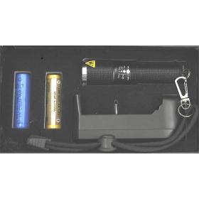 Latarka UV LED bursztyn krew białko klimatyzacja 390nm
