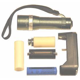 Latarka policyjna wojskowa taktyczna 3W CREE LED 180 Lm ład