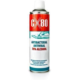 Spray antybakteryjny do dezynfekcji rąk 500ml CX-80