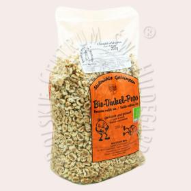 Chrupki orkiszowe - popsy - słodzone miodem 250 g