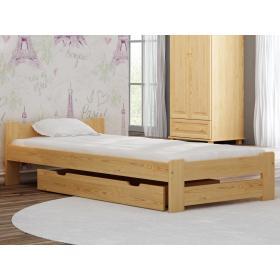 Łóżko drewniane NIWA 90x190 - 4 kolory!