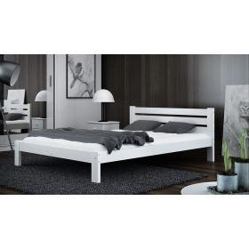 Łóżko drewniane AZJA 160x200 kolor Biały