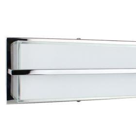 Lampa ścienna SALLY biała prostokąt 60cm