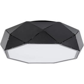 Lampa sufitowa plafon JOTA L PL czarny 31883