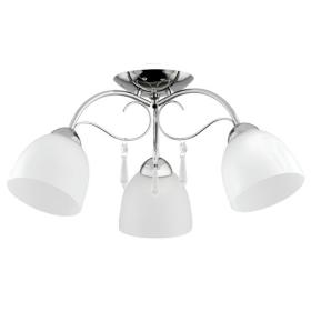 Nowoczesna lampa sufitowa PABLO GLASS OP. 3 PŁ