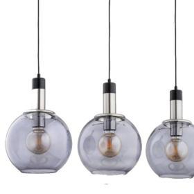 Nowoczesna lampa wisząca VANELO CHROM OP. 3 PŁ