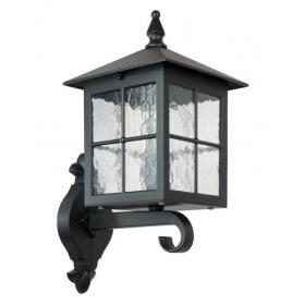 Kinkiet zewnętrzny Lampa Wenecja K 3012/1/KW/G | czarny