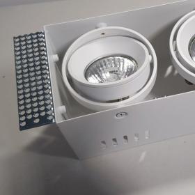 Bezramkowa lampa wpuszczana MERANO II GU10 Light Prestige + RABATY w koszyku