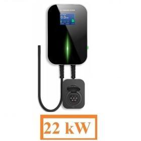 Stacja ładowania samochodu elektrycznego Wallbox 3x32A 22kW Typ2 i3 Leaf Tesla IEC62196
