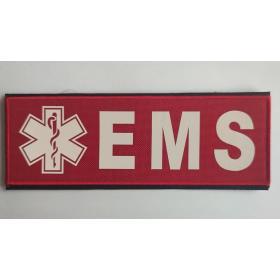 Naszywka EMS Duża (czerwona)
